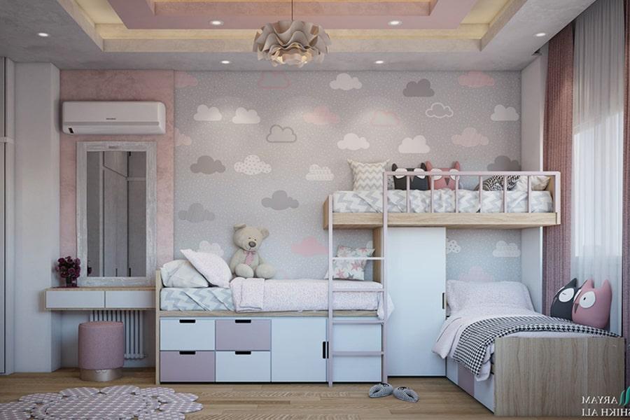 phòng ngủ dành cho bé gái 23 nagopa design