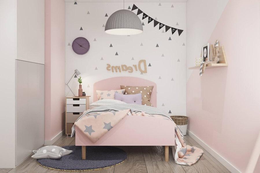 phòng ngủ dành cho bé gái 26 nagopa design