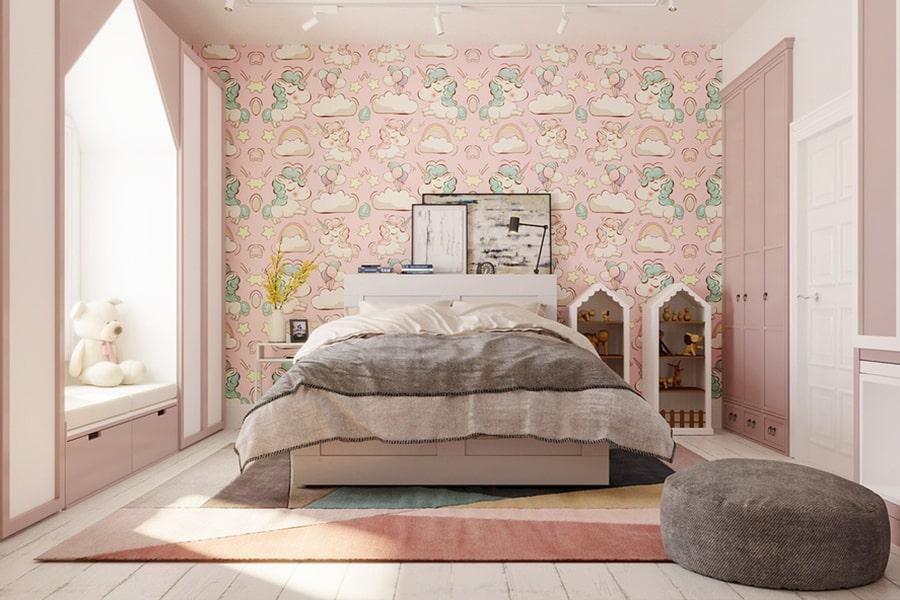 phòng ngủ dành cho bé gái 32 nagopa design
