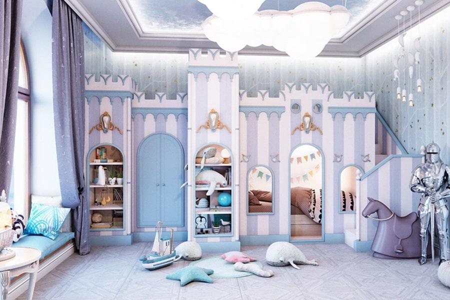 phòng ngủ dành cho bé gái 33 nagopa design