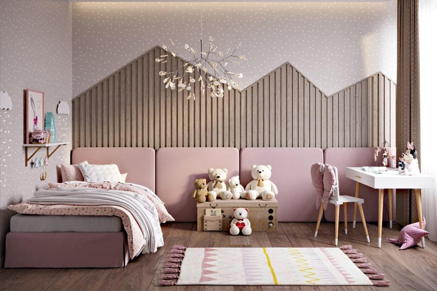 phòng ngủ dành cho bé gái 36 nagopa design
