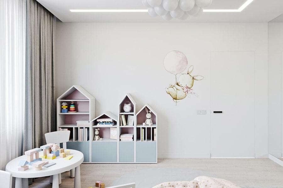 phòng ngủ dành cho bé gái 39 nagopa design