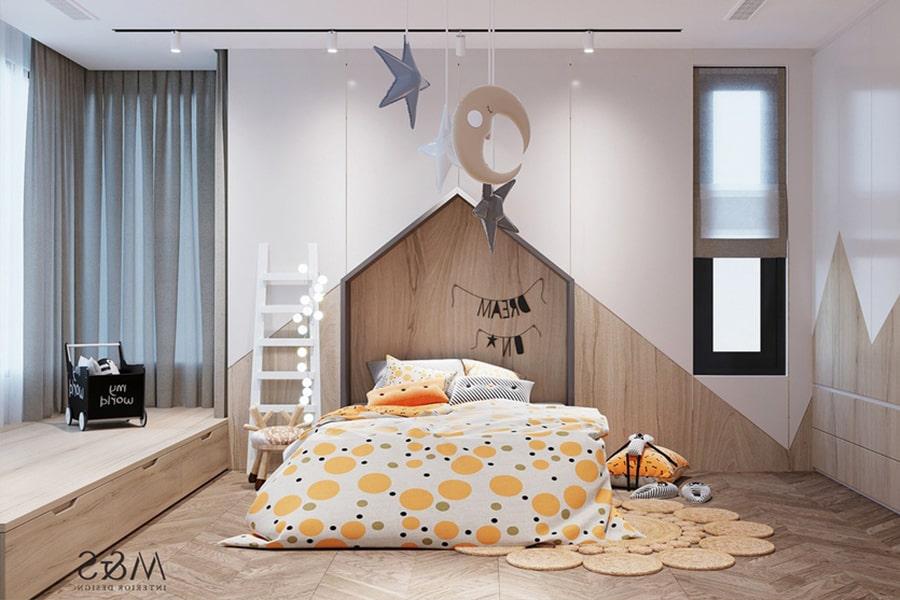 phòng ngủ dành cho bé gái 4 nagopa design