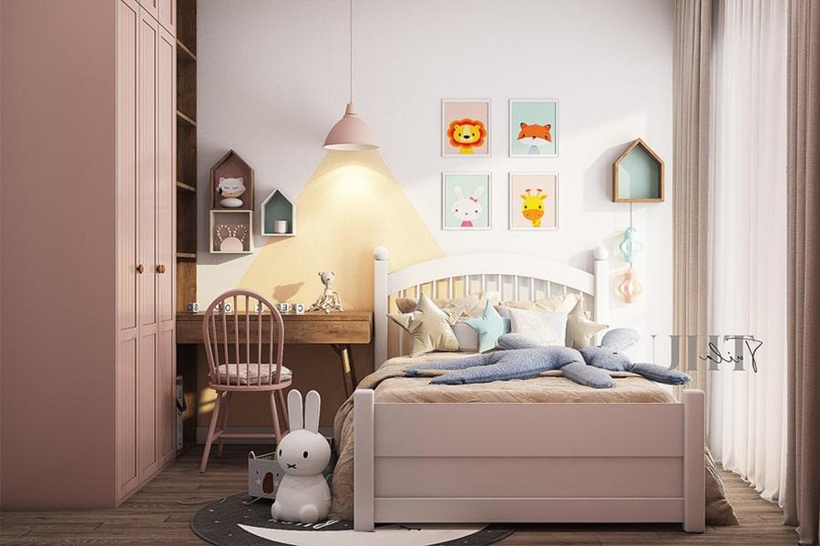phòng ngủ dành cho bé gái 6 nagopa design