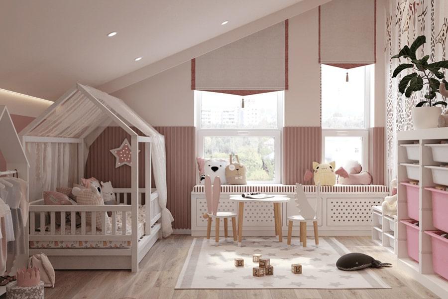 phòng ngủ dành cho bé gái 7 nagopa design