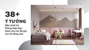 phòng ngủ đẹp dành cho bé gái