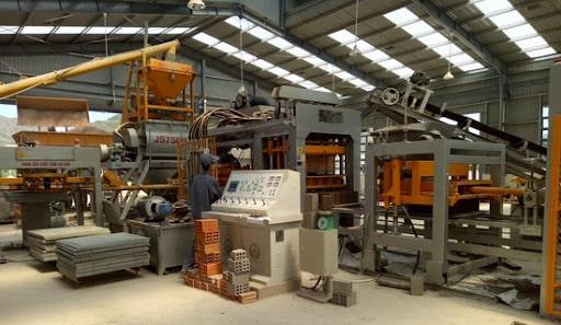 quy trình sản xuất gạch tuynel