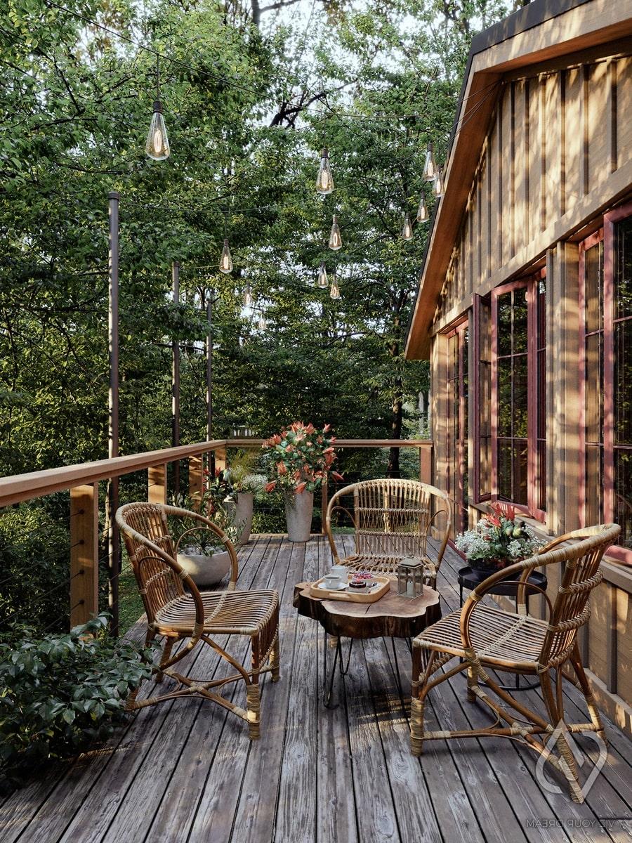 mẫu ban công biệt thự vườn có diện tích rộng