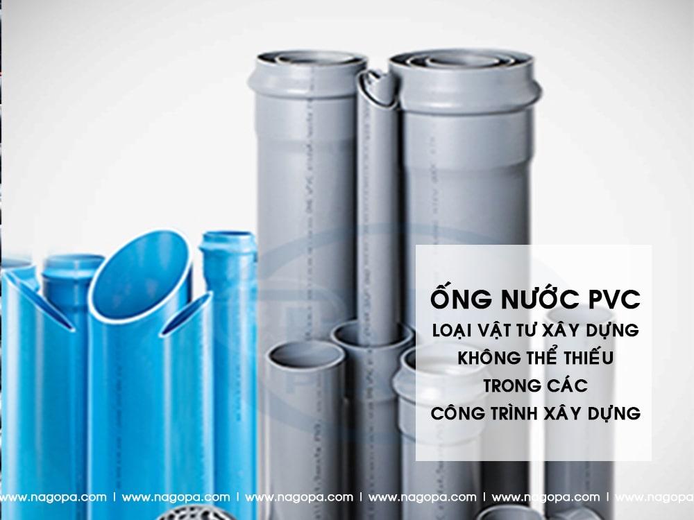 ống nước pvc vật tư xây dựng dùng để xây nhà