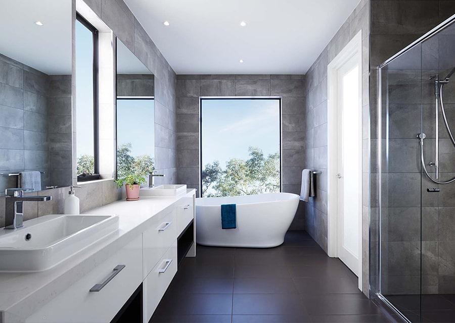 phòng tắm có bồn tắm nằm 1