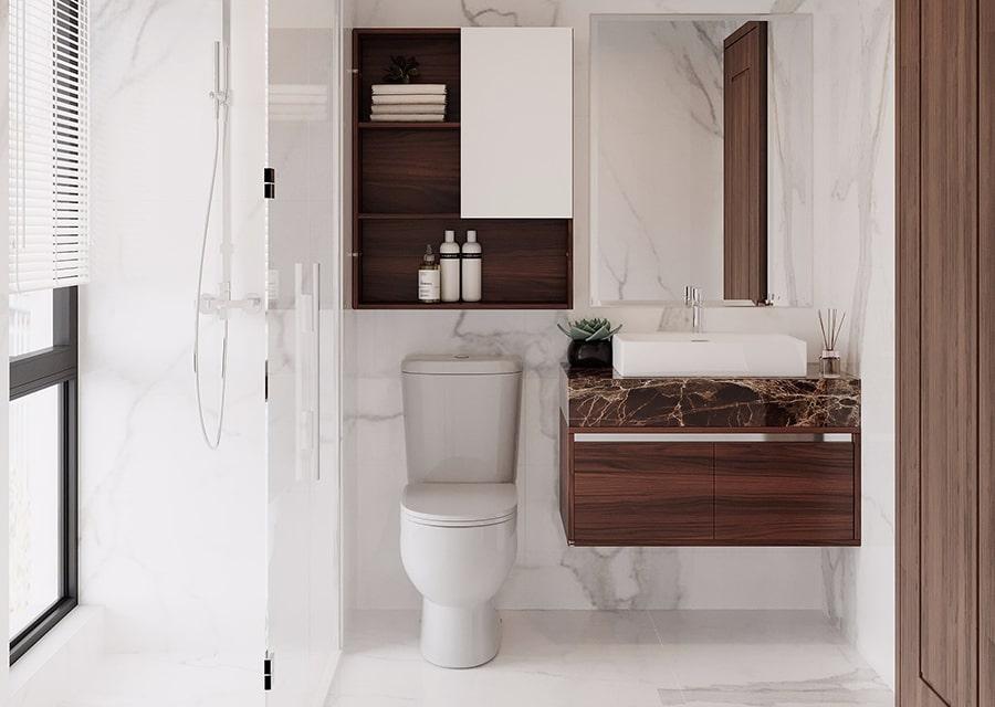 phòng tắm mang phong cách hiện đại 4