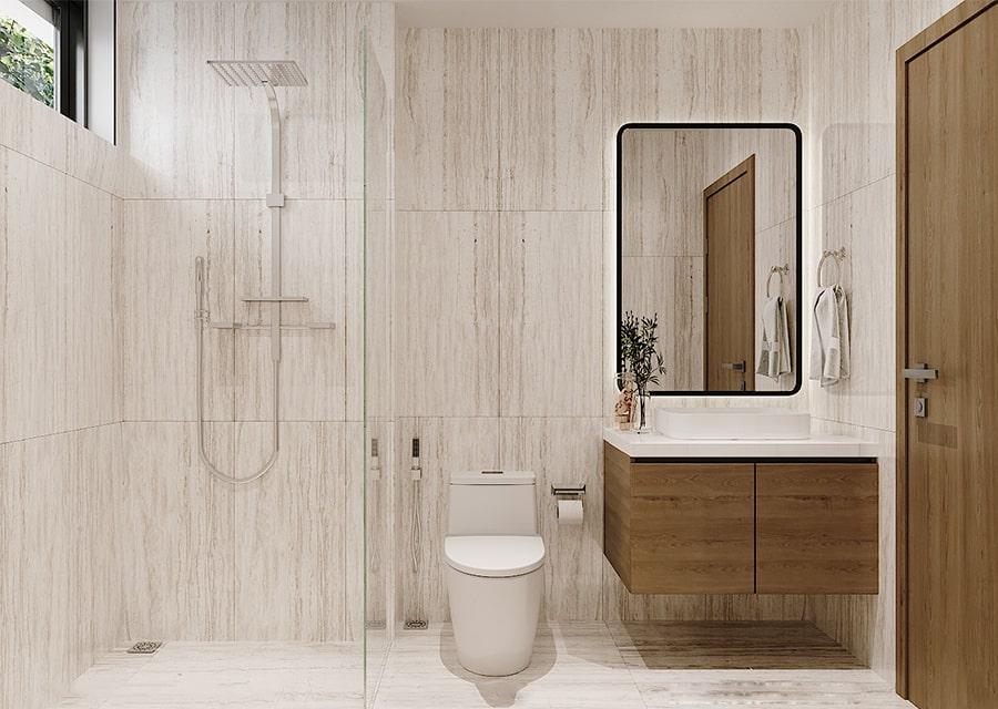 phòng tắm mang phong cách hiện đại 5