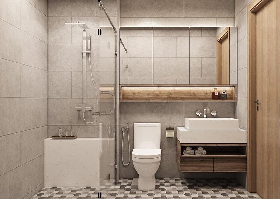 phòng tắm mang phong cách hiện đại 7