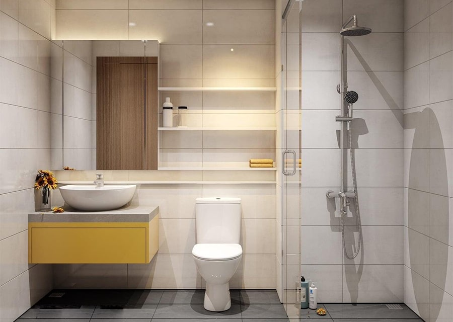 phòng tắm mang phong cách hiện đại 8