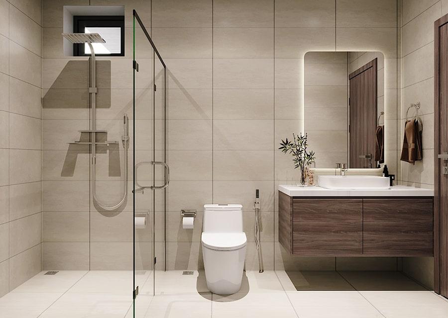 phòng tắm mang phong cách hiện đại 9